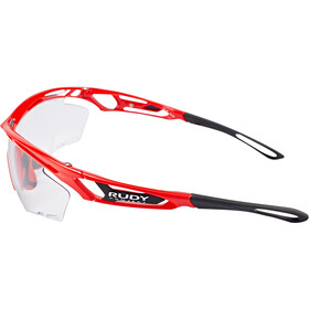 Rudy Project Tralyx Lunettes, fire red gloss - impactx photochromic 2 black